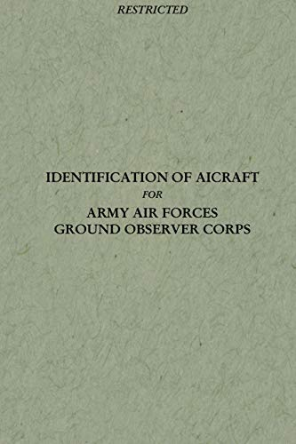 Identification of Aircraft for Army Air Forces: Headquarters Army Air