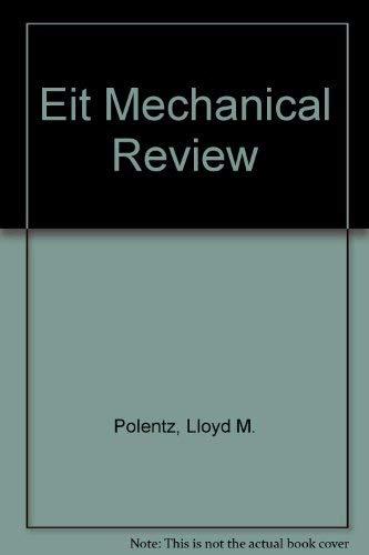 9781576450048: Eit Mechanical Review