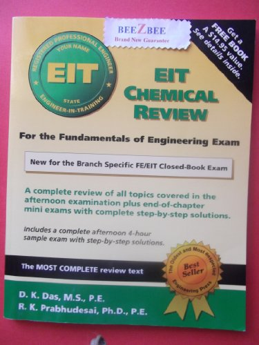 9781576450055: Eit Chemical Review
