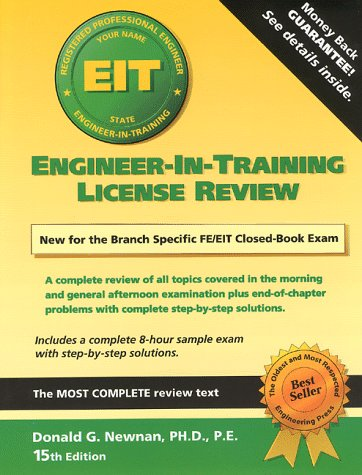 9781576450147: Engineering-in-Training License Review