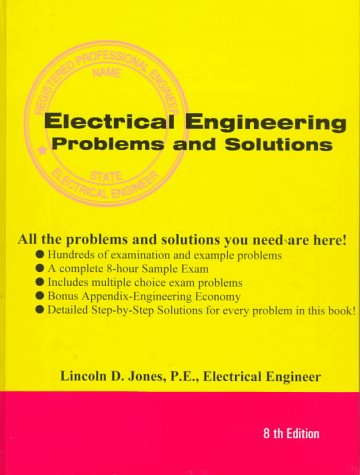 9781576450192: Electrical Engineering License Problems And Solutions
