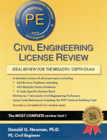 9781576450291: Civil Engineering License Review (Engineering Press at OUP)