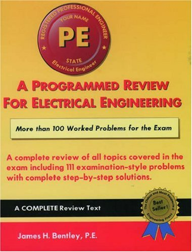 9781576450345: A Programmed Review for Electrical Engineering (Engineering press at OUP)