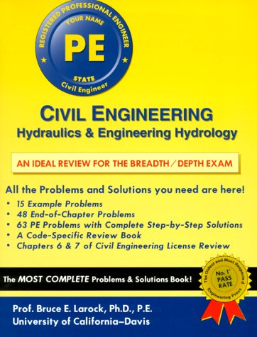 9781576450444: Civil Engineering: Hydraulics and Engineering Hydrology (Engineering Press at OUP)