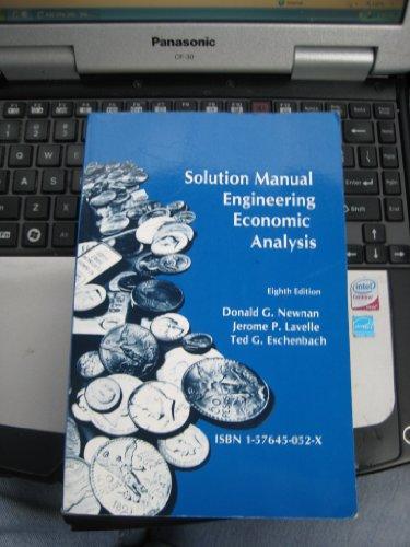9781576450529: Engineering Economic Analysis