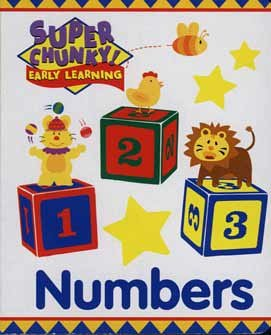 Super Chunky! Early Learning [Numbers]: Mouse Art Design