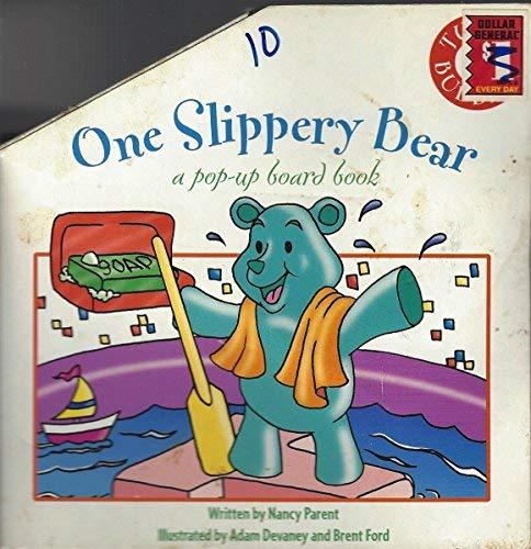 9781576572887: One Slippery Bear: a pop-up board book (Tubby Buddies)