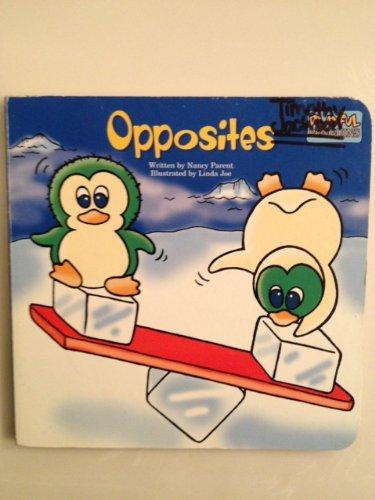 Opposites (Playful Penguins Board Book): Nancy Parent
