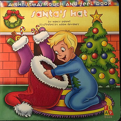 9781576579275: Santa's Hat: A Christmas Touch and Feel Book