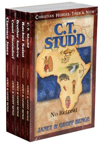 9781576583869: 26 30 Gift Pk Studd Saint Andrew Zinzend (Christian Heroes: Then & Now)