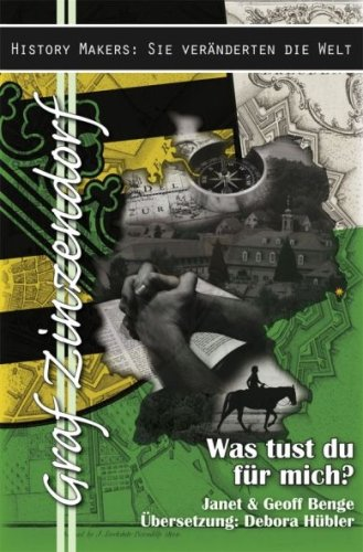 9781576584279: Graf Zinzendorf