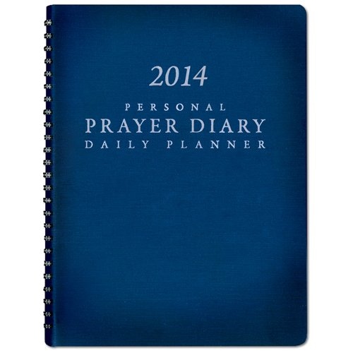 9781576587812: 2014 Personal Prayer Diary and Daily Planner (Navy Blue)