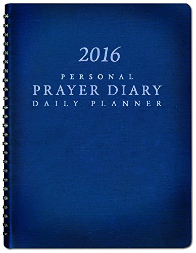 9781576589250: 2016 Personal Prayer Diary and Daily Planner (Navy Blue)
