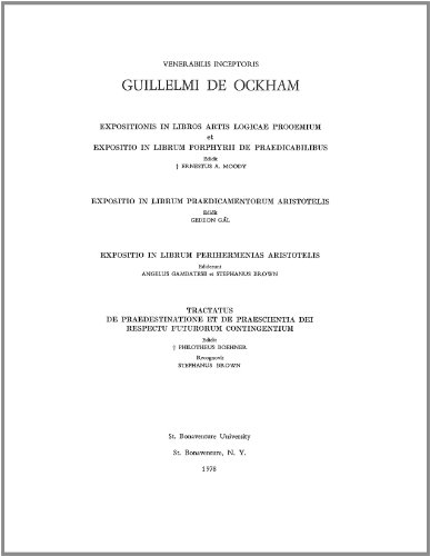 9781576590102: William of Ockham's Opera Philosophica Volume II (Latin Edition)