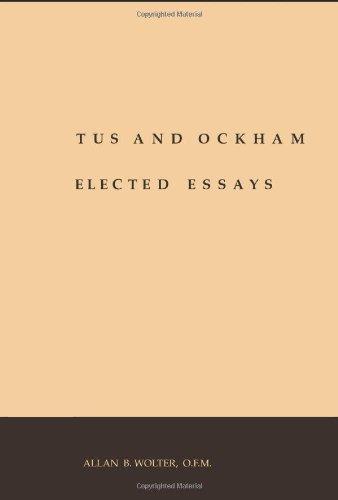9781576591888: Scotus and Ockham: Selected Essays