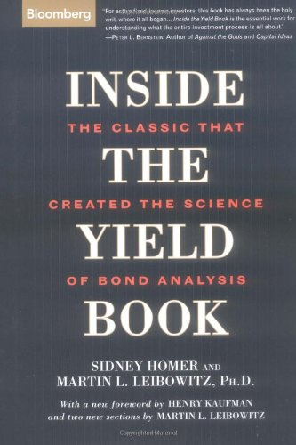 9781576601594: Inside the Yield Book: The Classic That Created the Science of Bond Analysis