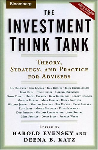 9781576601655: The Investment Think Tank: Theory, Strategy, and Practice for Advisers (Bloomberg Professional)