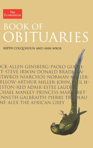 9781576603260: Economist Book of Obituaries (Economist Books)