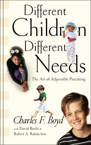 9781576737507: Different Children, Different Needs: Understanding the Unique Personality of Your Child