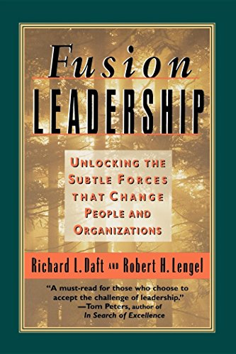 9781576750803: Fusion Leadership: Unlocking the Subtle Forces That Change People and Organisations