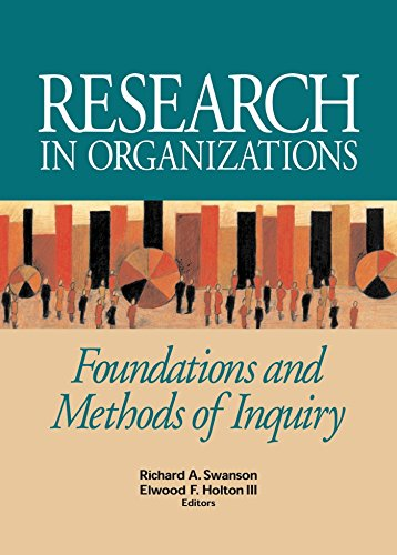 Research in Organizations: Swanson