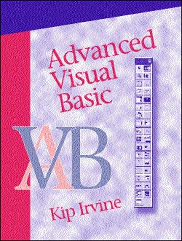 Advanced Visual Basic: Kip Irvine, Kip