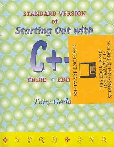 Starting Out with C++ (3rd Edition): Tony Gaddis