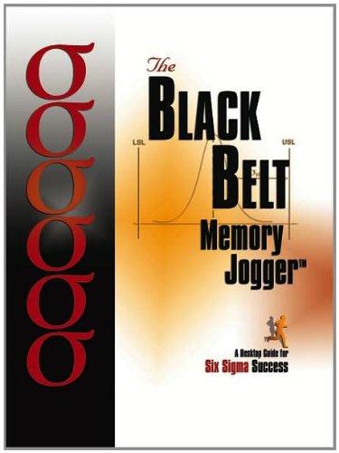 9781576810545: The Black Belt Memory Jogger Desktop Guide: A Desktop Guide for Six Sigma Success