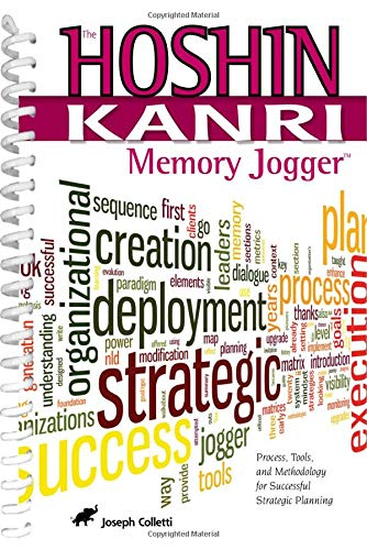 9781576811580: The Hoshin Kanri Memory Jogger: Process, Tools and Methodology for Successful Strategic Planning