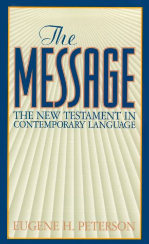 9781576831021: The Message: New Testament (Mass Market Edition)