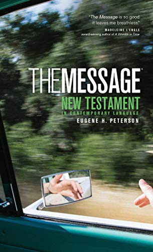 9781576834305: The Message New Testament: The New Testament in Contemporary Language (Think)