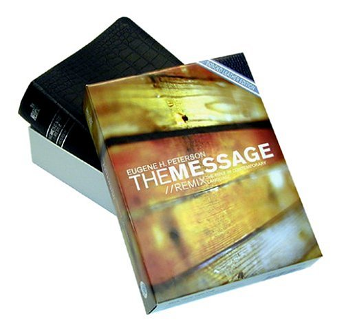 9781576834503: The Message Remix (Alligator Bonded Leather Edition)