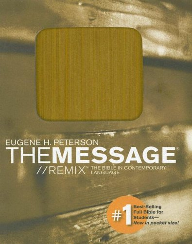 9781576838242: The Message// Remix: The Bible in Contemporary Language, Mustard
