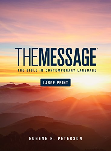 9781576838457: The Message Large Print Numbered Edition