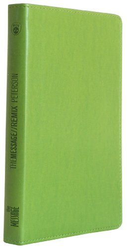 9781576838662: The Message Remix NT Bright Green Lthr Lk: The New Testament in Contemporary Language