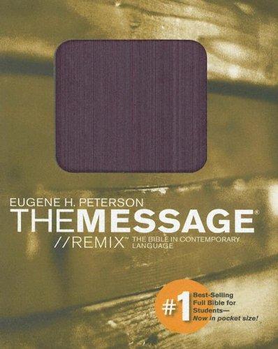 9781576838679: The Message Remix: Purple Pocket Edition
