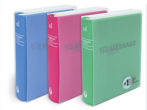 The Message//Remix: The Bible In Contemporary Language, Pink, Hypercolor! (1576838811) by Eugene Peterson