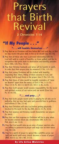 9781576839089: Prayers That Birth Revival 50-pack (Prayer Cards)