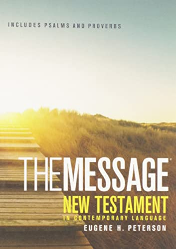 9781576839379: The Message New Testament with Psalms and Proverbs Paperback Pocket: New Testament, Psalms, and Proverbs