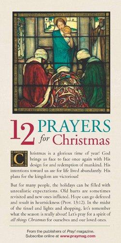 9781576839478: 12 Prayers for Christmas 50-pack