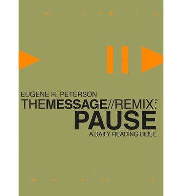 Message Remix, the (1576839680) by Eugene Peterson