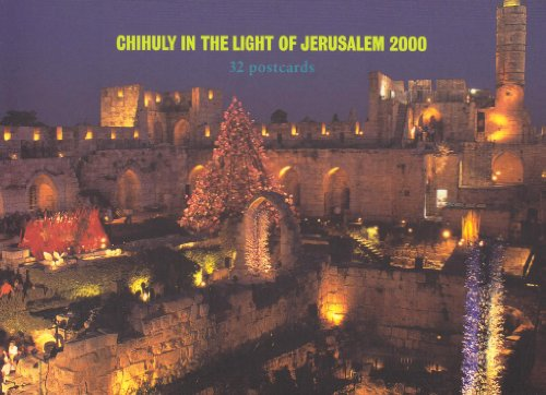9781576840856: Chihuly in the Light of Jerusalem 2000