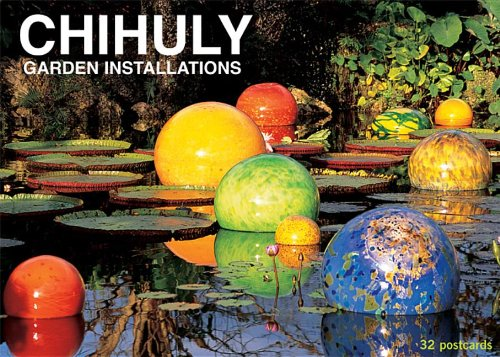 9781576841488: Chihuly Garden Installations Postcard Set: Set of 32 Postcards