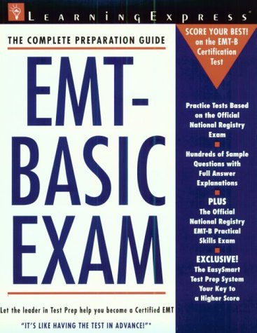 9781576850541: EMT-Basic Exam (Law Enforcement Series)