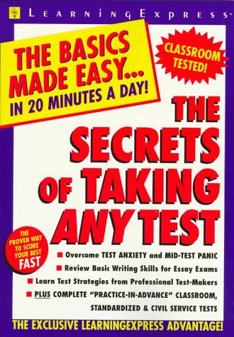 9781576850718: The Secrets Of Taking Any Test