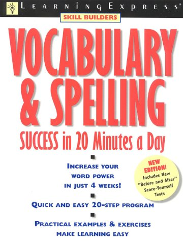 9781576851272: Vocabulary & Spelling Success (Learningexpress Skill Builders)