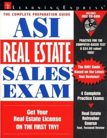 9781576851524: ASI Real Estate Sales Exam with CD-ROM