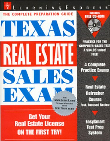 9781576851531: Texas Real Estate Sales Exam (Learning Express Real Estate Sales Exams)
