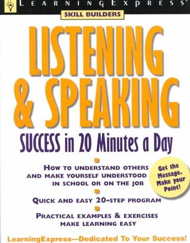 Listening & Speaking Success (Skill Builders (Learningexpress)): Fox, Grace