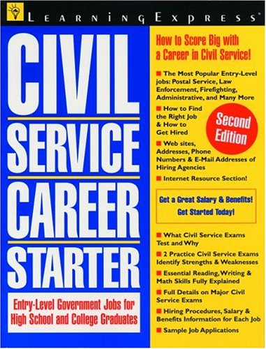 Civil Service Career Starter 2e: LearningExpress Editors
